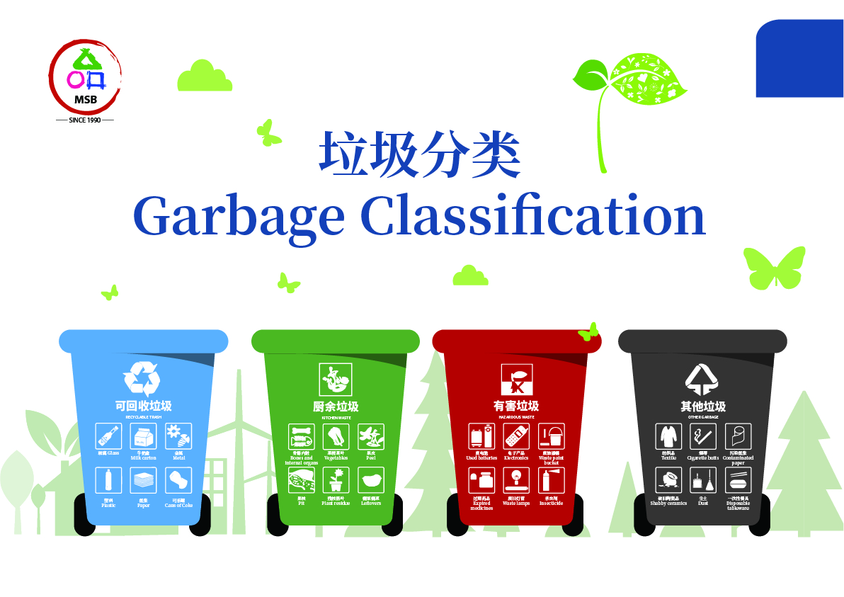 MSB Uses New Garbage System